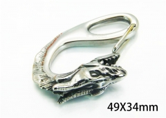 HY Wholesale Steel Pendants of Stainless Steel 316L-HY22P0335HOG