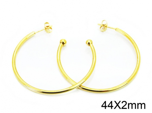 HY Wholesale Stainless Steel 316L Cheap Earrings-HY08E0103JA