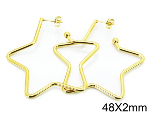 HY Wholesale Stainless Steel 316L Cheap Earrings-HY08E0096JW