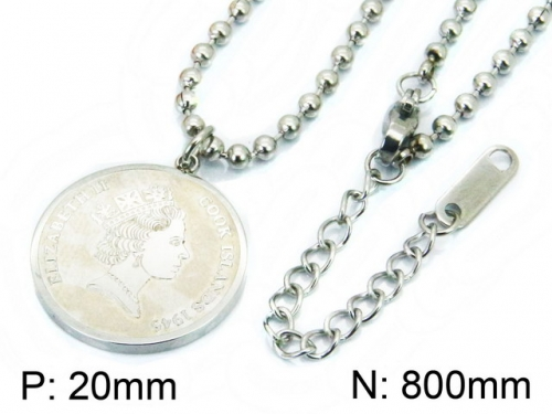 HY Wholesale Stainless Steel 316L Necklaces-HY09N1000HHB