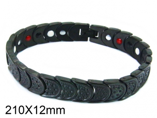 HY Wholesale Stainless Steel 316L Bracelets (Magnetic Health)-HY36B0149IEE
