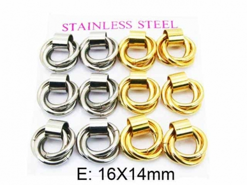 HY Wholesale Stainless Steel 316L Hollow Hoop Earrings-HY59E0527IIL
