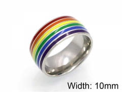HY Jewelry Wholesale Stainless Steel 316L Popular Rings-HY0041R0097