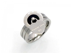 HY Jewelry Wholesale Stainless Steel 316L Popular Rings-HY0041R0052