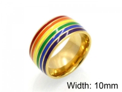 HY Jewelry Wholesale Stainless Steel 316L Popular Rings-HY0041R0096