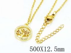 HY Wholesale Popular Crystal Zircon Necklaces-HY54N0242HVV