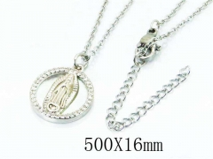HY Wholesale Popular Crystal Zircon Necklaces-HY54N0238HQQ