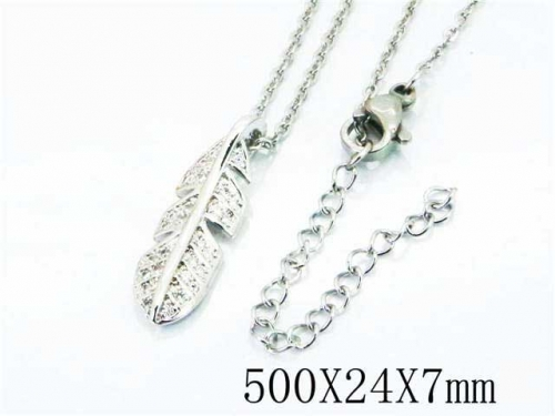 HY Wholesale Popular Crystal Zircon Necklaces-HY54N0249NG
