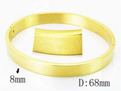 HY Wholesale Stainless Steel 316L Bangle-HY42B0148OL