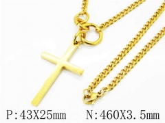 HY Wholesale Stainless Steel 316L Necklaces (Religion Style)-HY40N0976HLW