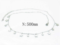 HY Wholesale Stainless Steel 316L Necklaces-HY54N0297NL