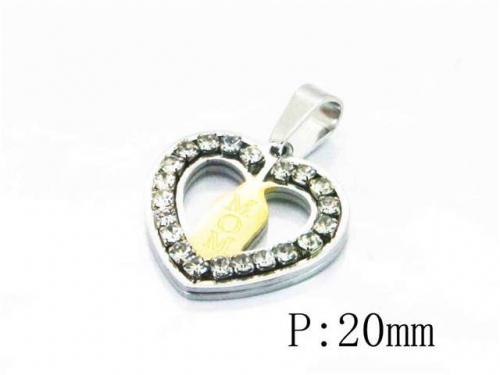 HY Stainless Steel 316L Pendants (Lover)-HY12P0773KL
