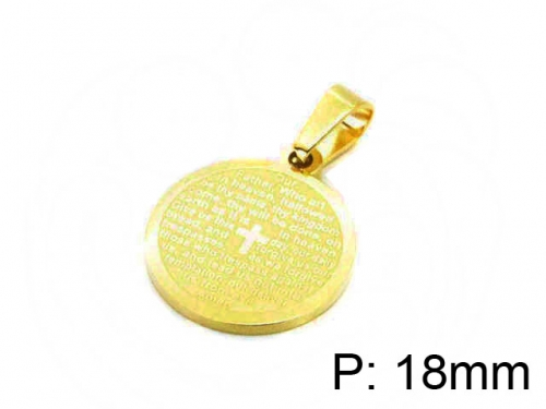 HY Wholesale Stainless Steel 316L Pendant-HY12P0780JL