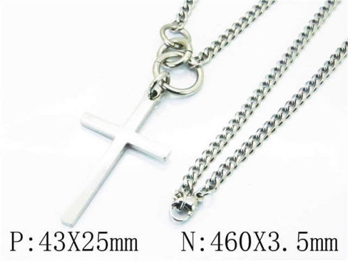 HY Wholesale Stainless Steel 316L Necklaces (Religion Style)-HY40N0975HWW