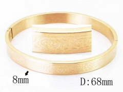 HY Wholesale Stainless Steel 316L Bangle-HY42B0143HBB
