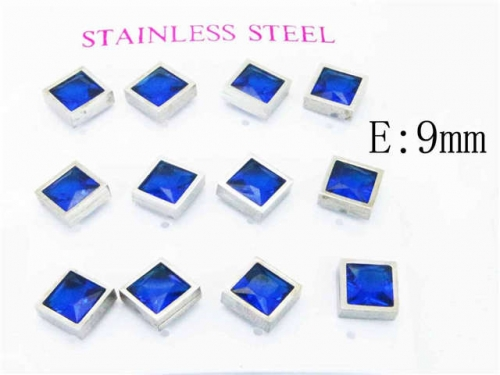 HY Stainless Steel 316L Small Crystal Stud-HY59E0561HOS