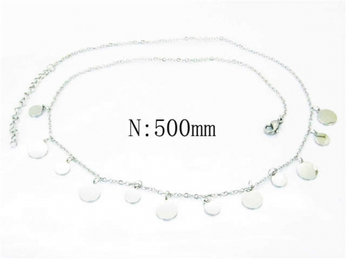 HY Wholesale Stainless Steel 316L Necklaces-HY54N0296NL