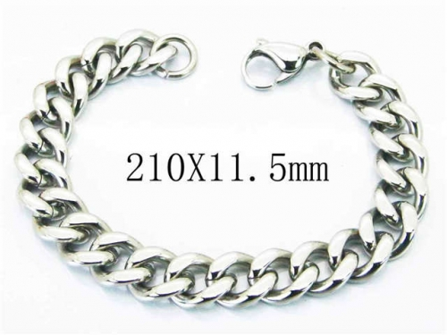 HY Stainless Steel 316L Bracelets-HY40B0198OR