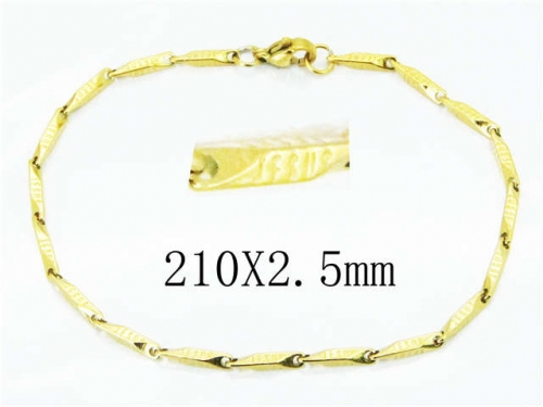 HY Stainless Steel 316L Bracelets (Lady Popular)-HY70B0563JL