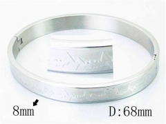 HY Wholesale Stainless Steel 316L Bangle-HY42B0150ML