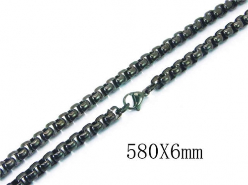 HY Wholesale Stainless Steel 316L Box Chains- HY40N0979HAA