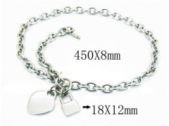 HY Wholesale Stainless Steel 316L Necklaces-HY40N0970HMV