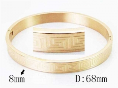 HY Wholesale Stainless Steel 316L Bangle-HY42B0140HDD