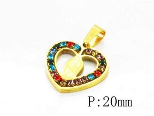 HY Stainless Steel 316L Pendants (Lover)-HY12P0771KL