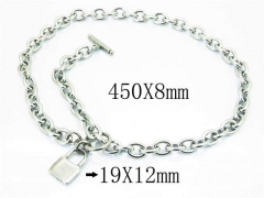 HY Wholesale Stainless Steel 316L Necklaces-HY40N0971HKW