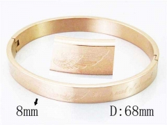 HY Wholesale Stainless Steel 316L Bangle-HY42B0146HWW