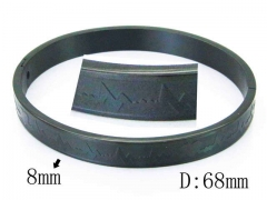 HY Wholesale Stainless Steel 316L Bangle-HY42B0153PA