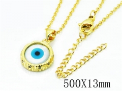 HY Wholesale Stainless Steel 316L Necklaces (Religion Style)-HY54N0334OL
