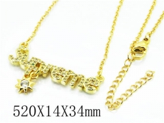 HY Stainless Steel 316L Necklaces(Crystal)-HY54N0335OL
