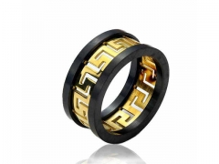 HY Jewelry Wholesale Stainless Steel 316L Hollow Rings-HY0053R028