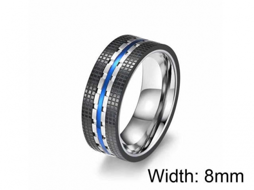 HY Wholesale 316L Stainless Steel rings-HY0052R022