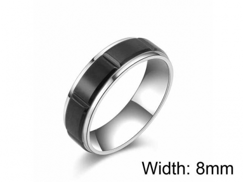 HY Wholesale 316L Stainless Steel rings-HY0052R008