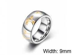 HY Wholesale 316L Stainless Steel rings-HY0052R014