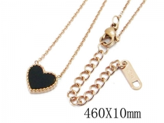 HY Wholesale 316L Stainless Steel Necklaces-HY23N0006HSS