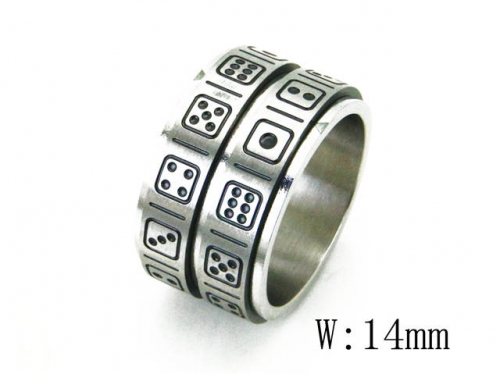 HY Wholesale 316L Stainless Steel Rings-HY23R0029OB