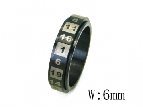 HY Wholesale 316L Stainless Steel Rings-HY23R0038LL