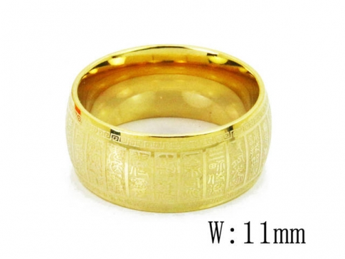 HY Wholesale 316L Stainless Steel Rings-HY23R0027L5