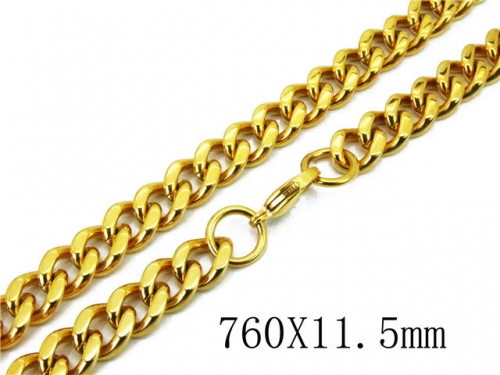 HY Wholesale 316L Stainless Steel Curb Chains-HY40N1049JOR