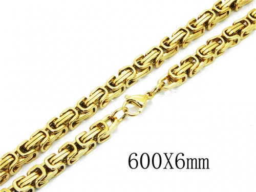 HY Wholesale 316L Stainless Steel Byzantine Chain-HY40N1032HNW