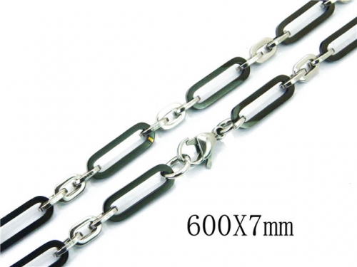 HY Wholesale 316L Stainless Steel Chains-HY40N1028I3D