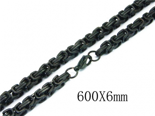 HY Wholesale 316L Stainless Steel Byzantine Chain-HY40N1031H7