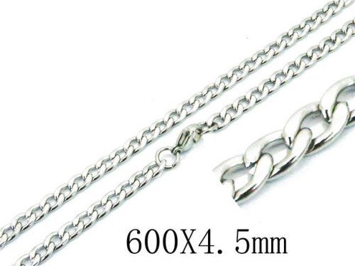 HY Wholesale 316L Stainless Steel Curb Chains-HY40N1037JL