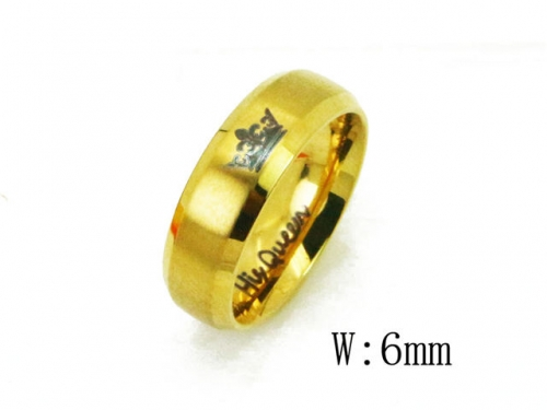 HY Wholesale 316L Stainless Steel Rings-HY23R0059IO