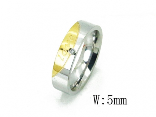 HY Wholesale 316L Stainless Steel Rings-HY23R0054KZ