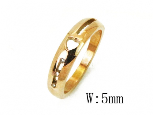 HY Wholesale 316L Stainless Steel Rings-HY23R0066LF