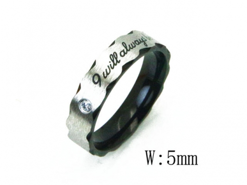 HY Wholesale 316L Stainless Steel Rings-HY23R0063KO